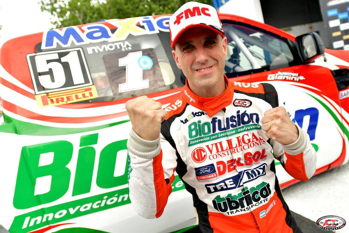 Juan Pablo Gianini se consagró campeón de las TC Pick Up
